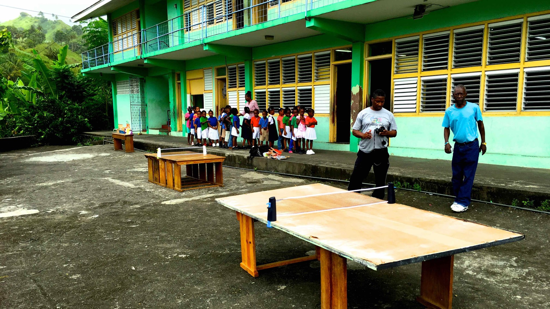 Help Bring Table Tennis to SVG
